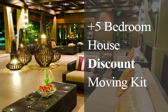 5 Bedroom House Discounted Moving Kit