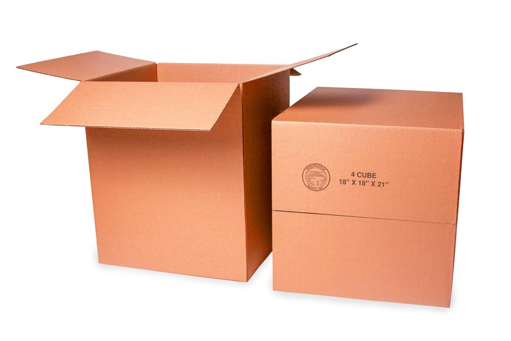 4 cube box