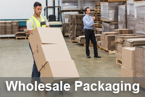 Wholesale packaging & moving boxes