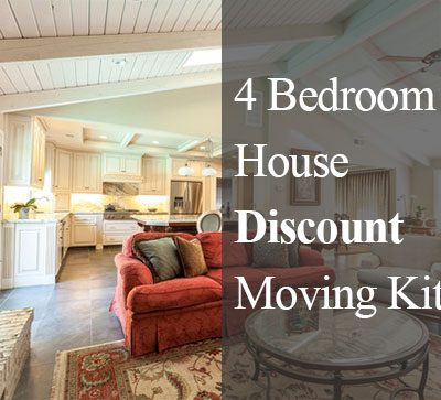 4 Bedroom House Moving Kit