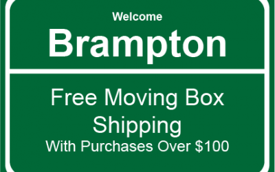 Brampton Moving Supplies and Moving Boxes