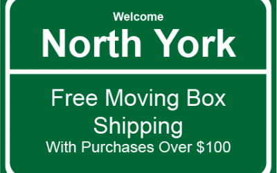 North York Moving Boxes & Packing Supplies