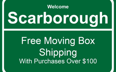 Affordable Moving Boxes and Moving Supplies Delivered in Scarborough