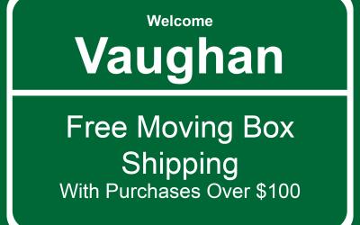 Vaughan Moving Boxes | Moving Boxes Vaughan | Moving Supplies